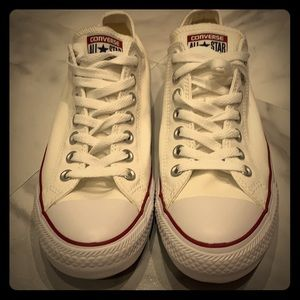 Brand New White Converse Sneakers